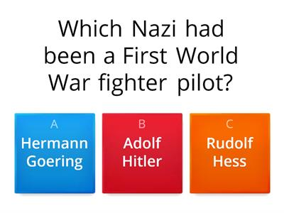 Nazi leaders quiz