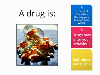 drugs quiz starter