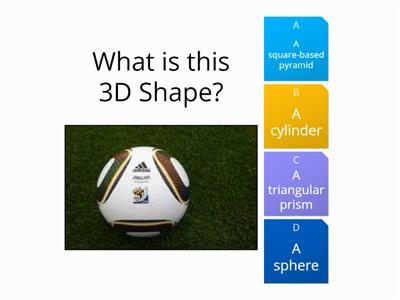 3D Shape Quiz