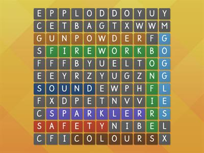 firework wordsearch