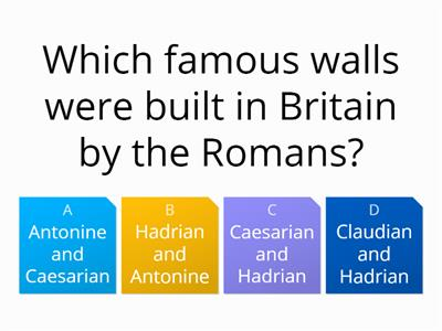 Romans quiz - Year 3 WordWall