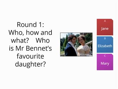 Pride and Prejudice Volume 1 quiz