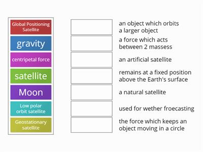 Y11 P5 Satellites Match-up plenary
