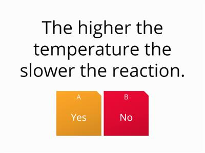 rates of reaction revision quiz