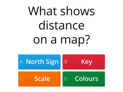 Geography knowledge quiz
