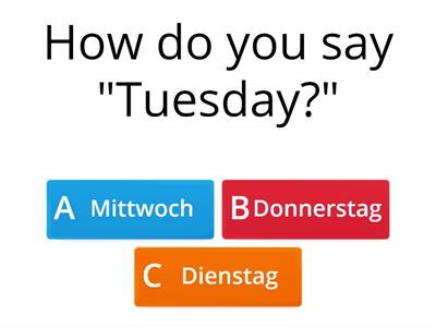 Y9 german quiz