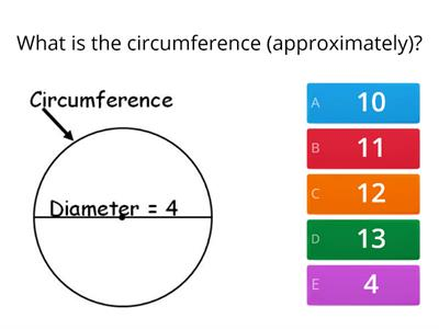 wordpad questions circumference