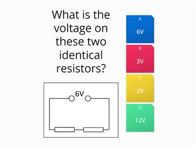 Electric circuits multi choice quiz