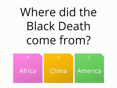 Black Death quiz