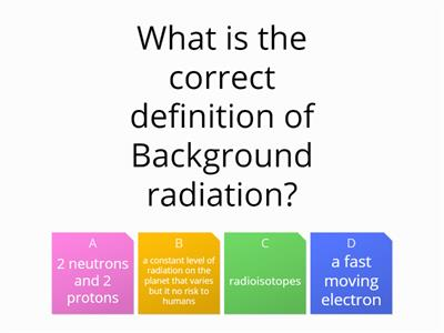 Nuclear power quiz