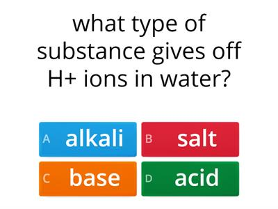 acids and alkali quiz