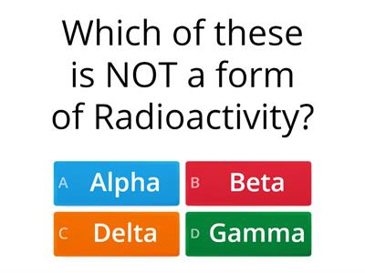 radio activity quiz