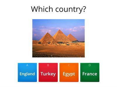 Guess the country from the photo