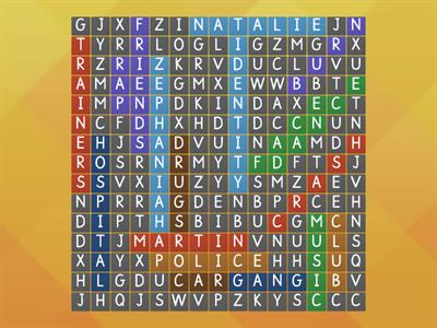face wordsearch