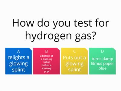 Chemical Analysis Quiz