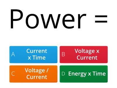 P2 Power Quiz