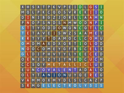 Structure Wordsearch