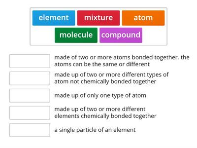 atoms, elements, etc