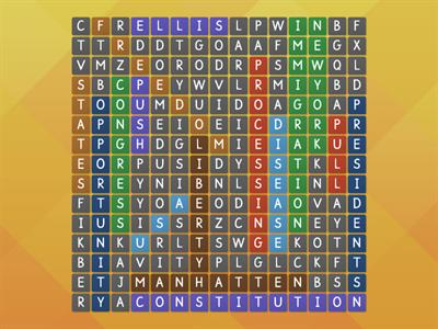 USA wordsearch