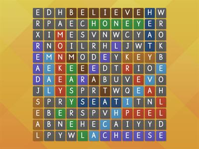 long e wordsearch