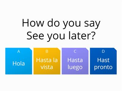 Spanish greetings - Teaching resources