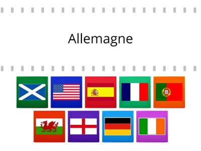 Flags countries grid proper