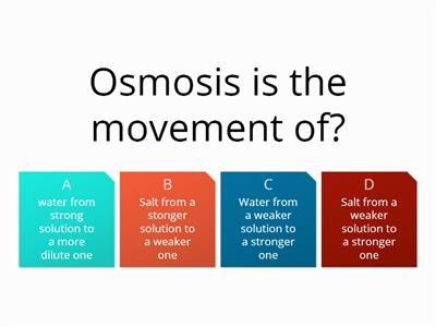 osmosis topic 1