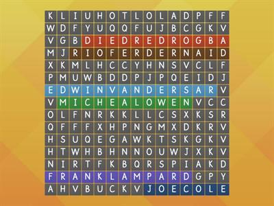 Wordsearch For FC