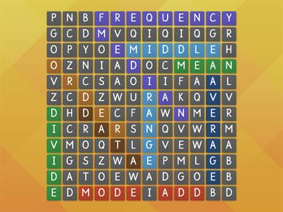 wordsearch averages