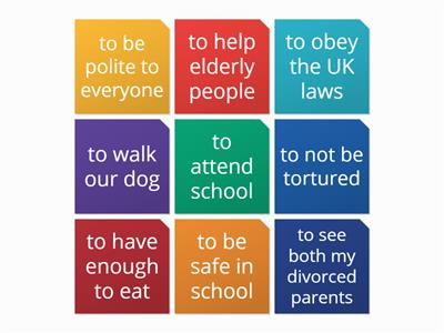 pshe citizenship rights and responsibilities wordwall