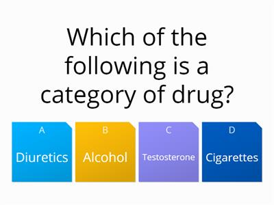 pe drugs quiz1