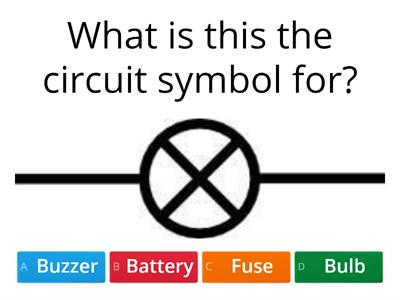 Charge and Circuits Quiz