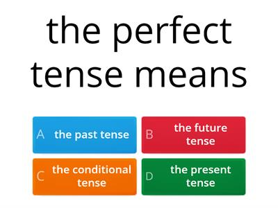 past tense year 9 quiz