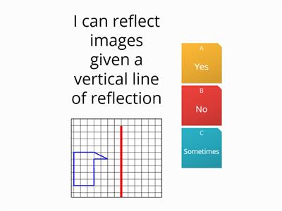 Reflection given line CB