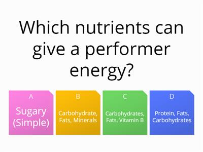 GHSPE Diet Quiz Db