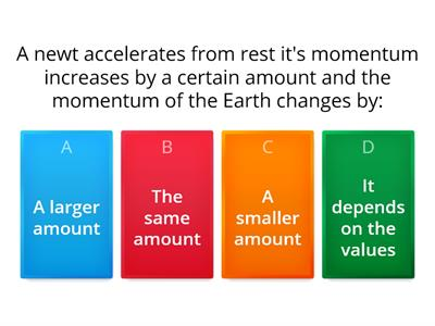 A level momentum quiz
