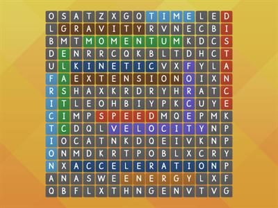 forces wordsearch rgr