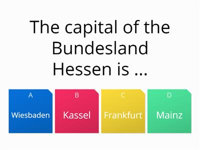 Germany quiz 1