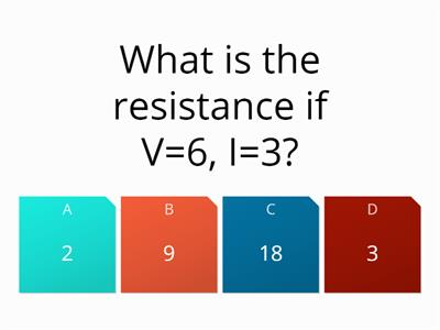 v=ir and fuse quiz