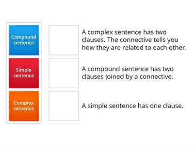 Sentence definitions