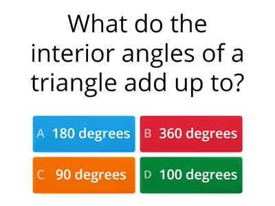 Mixed quiz - angles and f,d,%