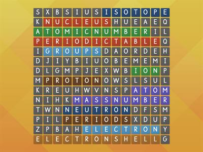 atoms wordsearch