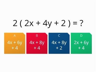 multiply brackets (single and double) progressive quiz