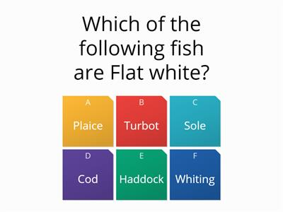 Fish Quiz Level 2