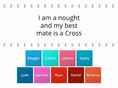 Noughts and Crosses Jeremy Kyle characters