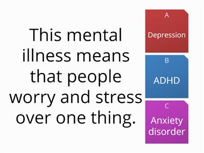 Mental health quiz