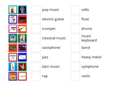MUSIC_1 instruments/styles