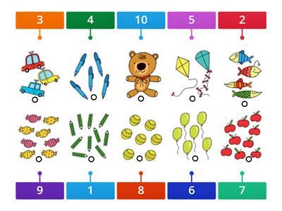 Numeros de 1 al 10 - Recursos didácticos