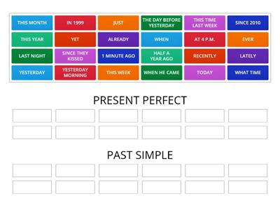 PAST SIMPLE OR PRESENT PERFECT 1(4)-14