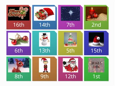 Class Digital Advent Calendar